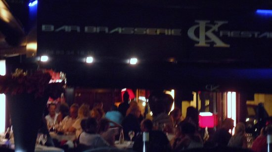 Cafe Kanter : Not very goood photo of the outside at night!
