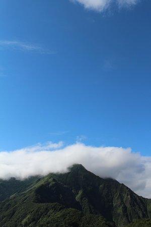 Tanigawadake: 天神峠のリフト乗り場の展望台より