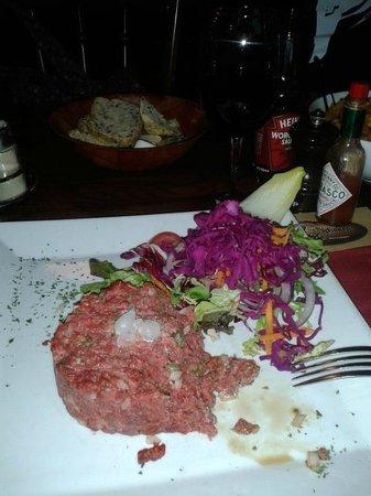 De 7 Schaken : Steak tartar
