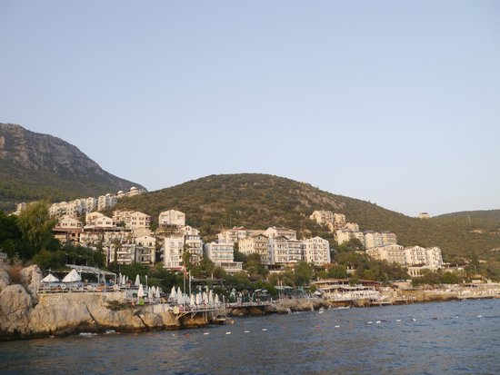 Linda Beach Hotel: View of Kas. It's quite a small place with LOTS of character