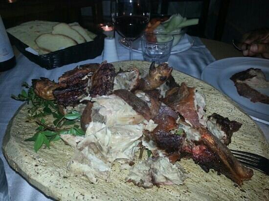 Vecchia Gallura: porcellino sardo sublime