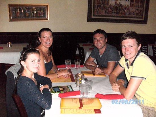 La Picaeta Tapas Bar: The Burrows Clan