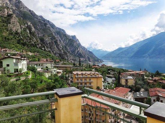 Hotel Cristina: Вид из отеля