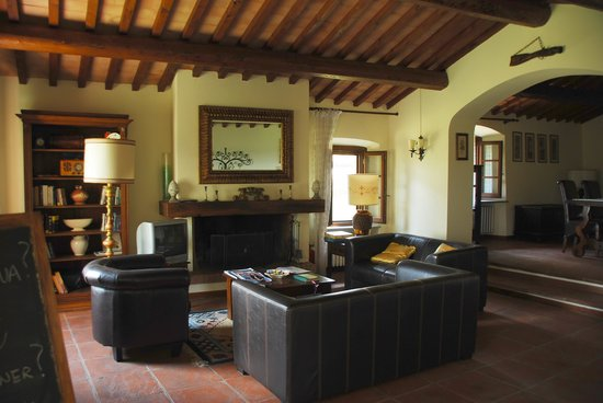 B&b Le Querciole Del Chianti : Tranquility and beauty inside