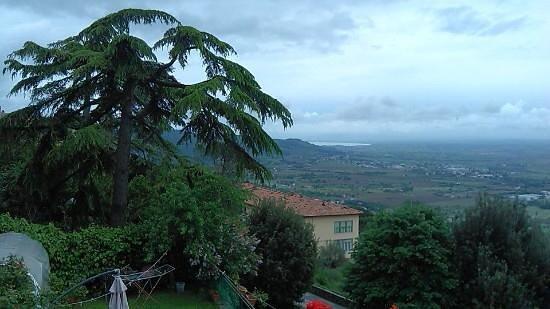 Casa Kita: vista dalla terrazza
