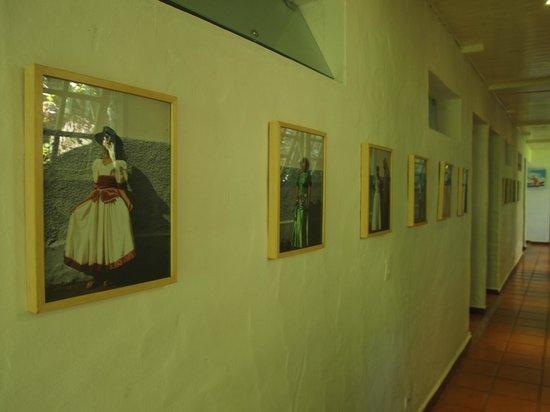 Pousada Picinguaba: corridor to standard rooms