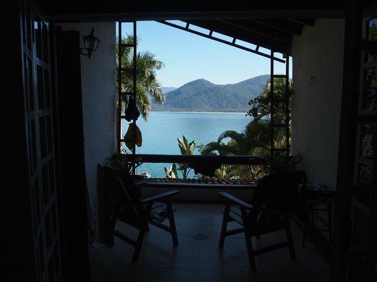 Pousada Picinguaba: honeymoon suite terrace