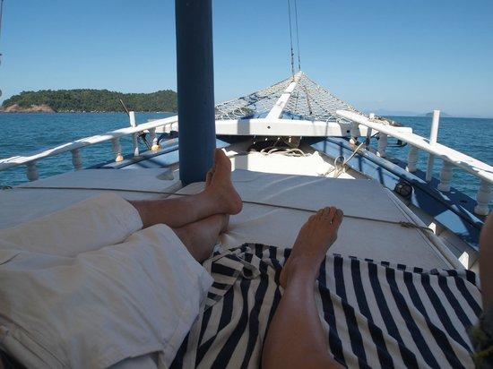 Pousada Picinguaba: boat trip