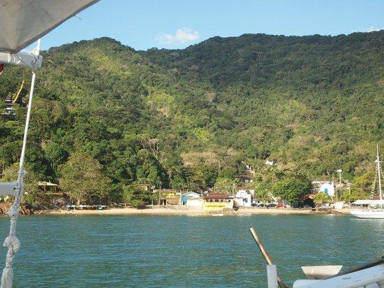 Pousada Picinguaba: from the sea