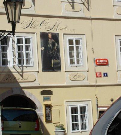 Ristorante Agnes dell'Hotel Casa Marcello