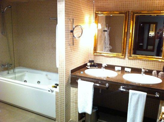 Hotel Plaza Andorra: salle de bain