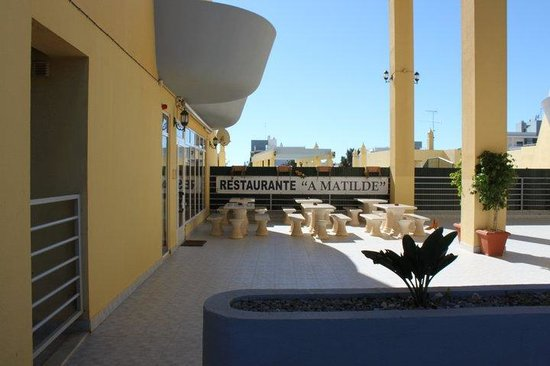 Restaurante Snack-Bar A Matilde: A entrada do restaurante