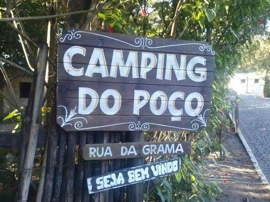 Entrada do Camping