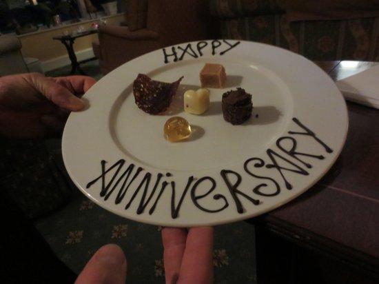 Kilcamb Lodge Hotel & Restaurant: Amuse bouche