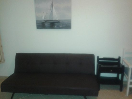 Hotel Candia: Sofa