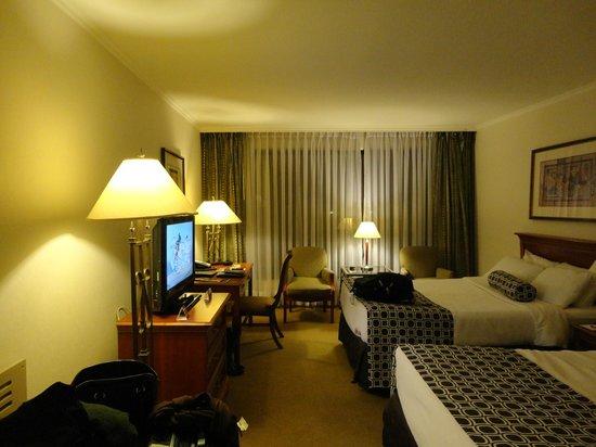 Crowne Plaza Santiago: Excelente quarto