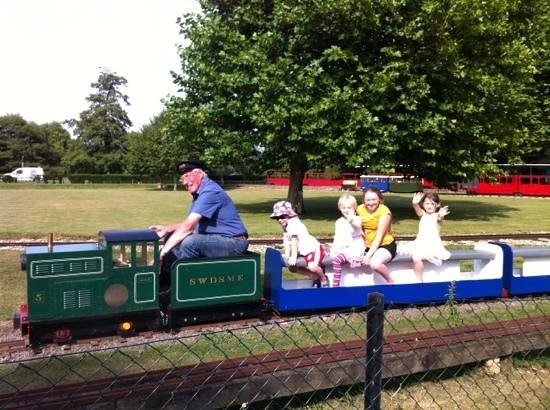 Audley End Miniature Railway: mini train ride