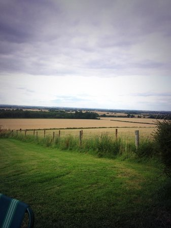 Vale House Belvoir: The view!