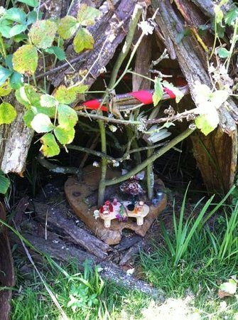 Audley End Miniature Railway: fairy house