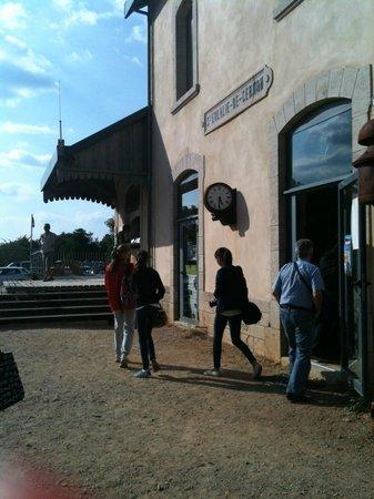 Velorail du Larzac: Ancienne gare de Ste Eulallie de Cernon