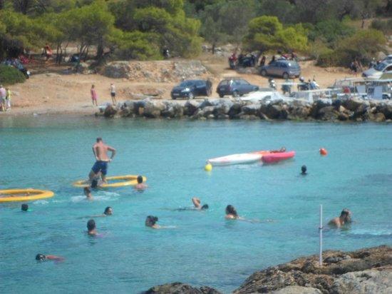 Aponisos Beach: Ανατολική Παραλία