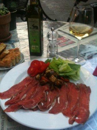Ete Bistro : Delicious and Nutritious ... salted beef carpaccio