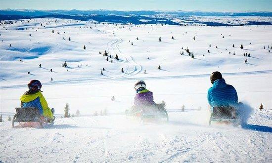 Storefjell Resort Hotel: Winter fun at Storefjell