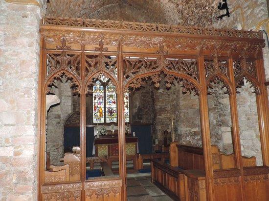 Parish Church of St. Brelade: le coeur