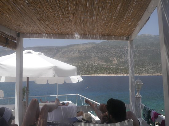 Club Capa Hotel: view from one of the sun loungers