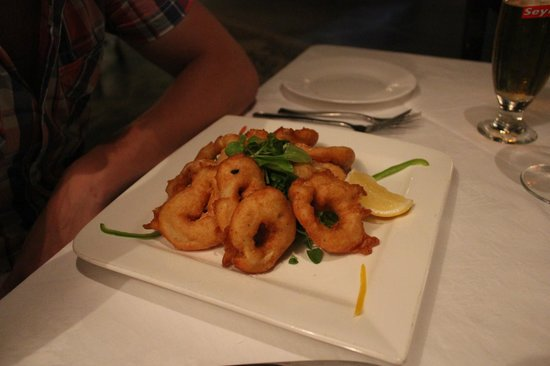 La Perle Noire: Squid Rings