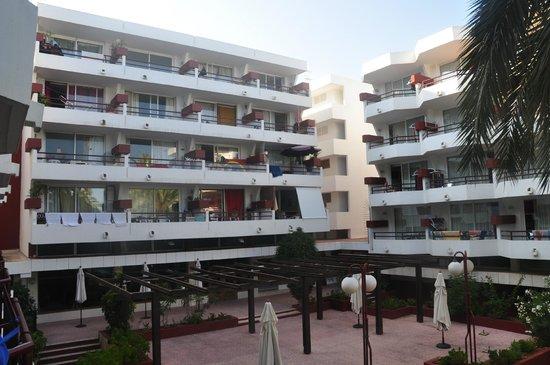 Apartamentos Lido: vue côté intérieur de la cour