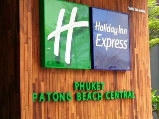 Holiday Inn Express Phuket Patong Beach Central: Main entrance