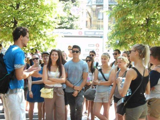 Budapest tourism guide.