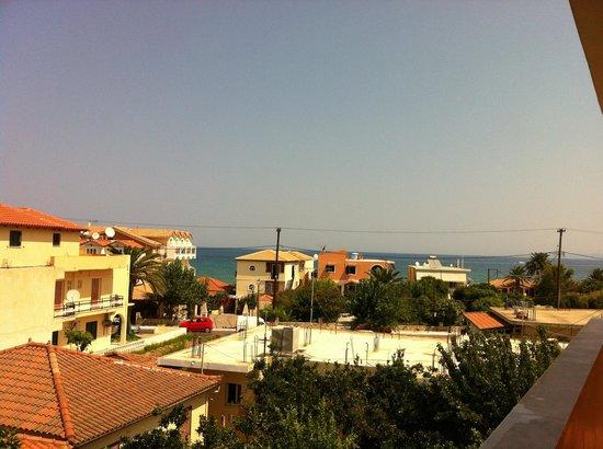 La Sirena Hotel : View from the door of room 306