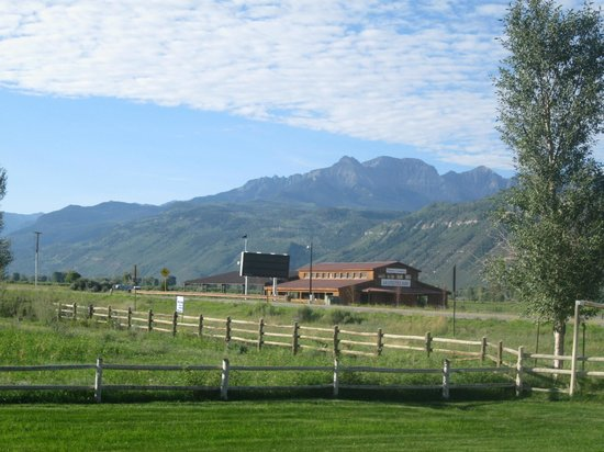 Ridgway-Ouray Lodge & Suites: view from the Lodge