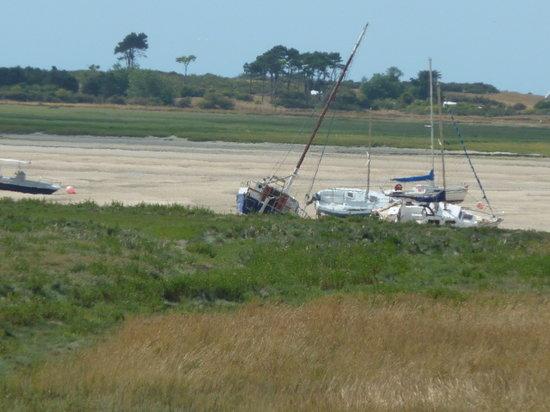 L'Hostellerie de la baie : A marée basse