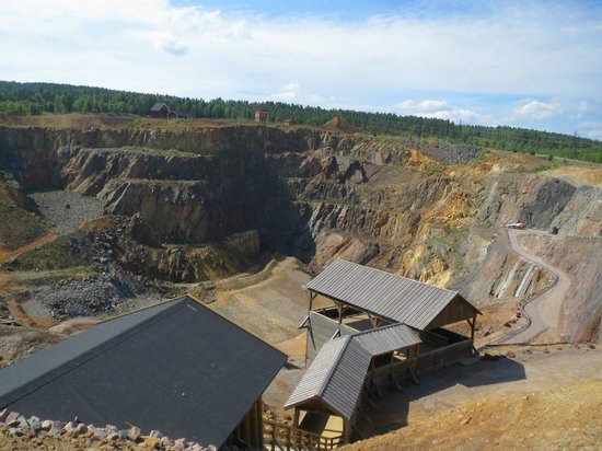 Falu Gruva: The open mine