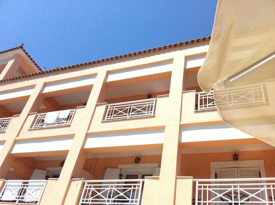 La Sirena Apartments : Balcony