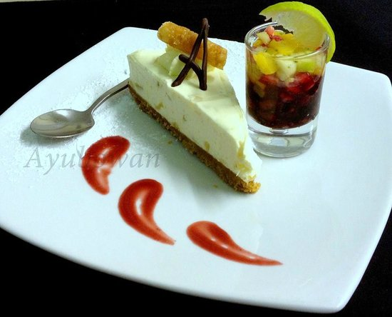 Ayubowan Restaurant: Lime & Ginger Cheesecake