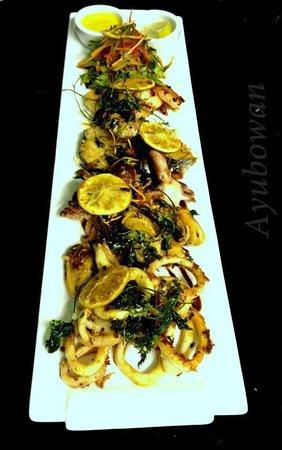 Ayubowan Restaurant: Seafood Platter