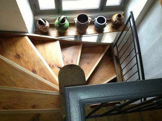 Le Rézinet  : stairway