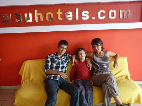 Wau Hotel & Cafe: wau hotel