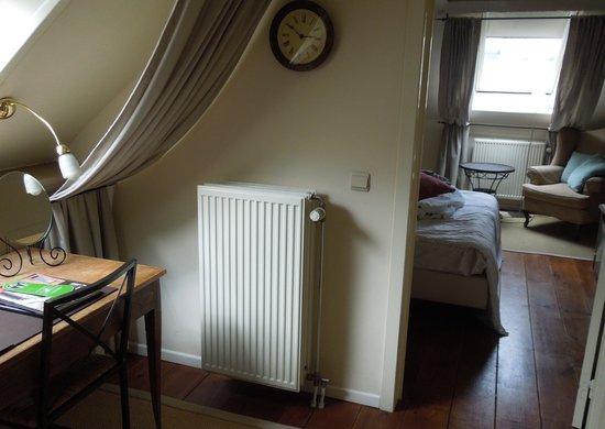 Hotel 't Sandt: Our suite (Taj Mahal Suite)