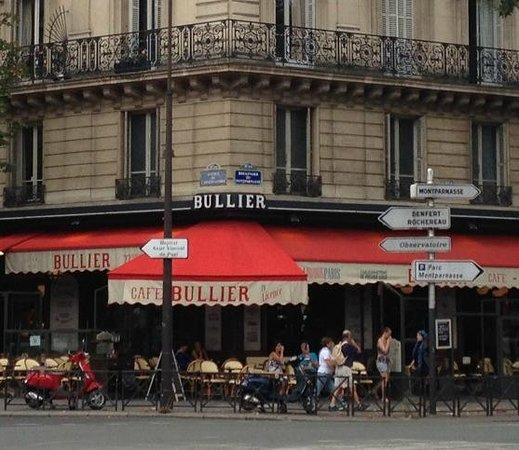 Bullier Caf U00e9 Restaurant  Paris - Montparnasse