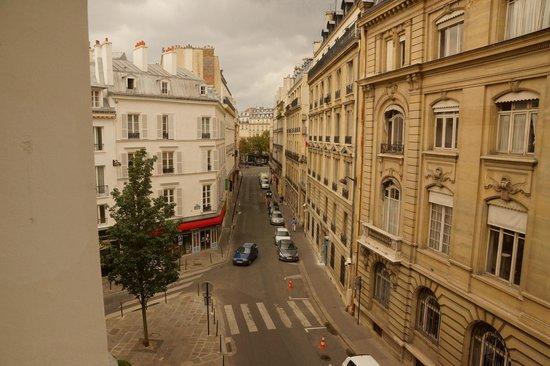 """Le Pavillon Des Lettres : View from """"Proust"""" room"""