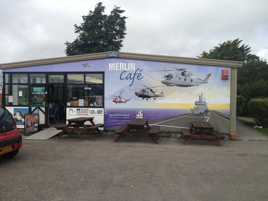 RNAS Culdrose Airfield Viewing Area: A great little cafe