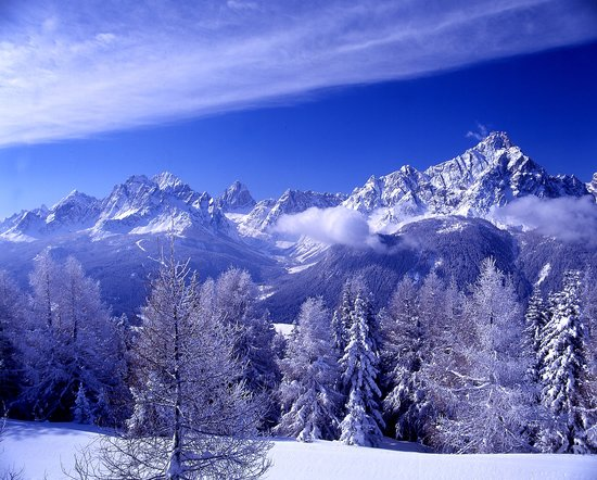 Hotel Monika: Sesto Dolomites in the wintertime