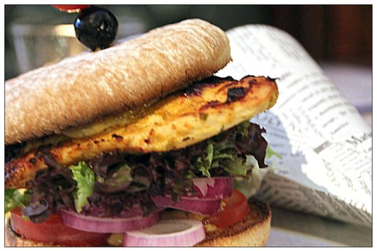 The Auld Triangle: Grilled Chicken breast