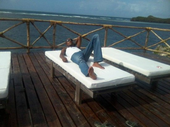Mawe Resort: Enjoying the breeze