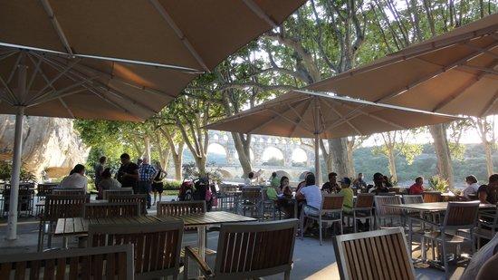 Restaurant Traditionel Les Terrasses : 席からの眺め